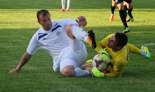 Дуэль Сторублевцева и Кучинского была одной из ключевых в матче, фото А.Белоножко, niknews.mk.ua