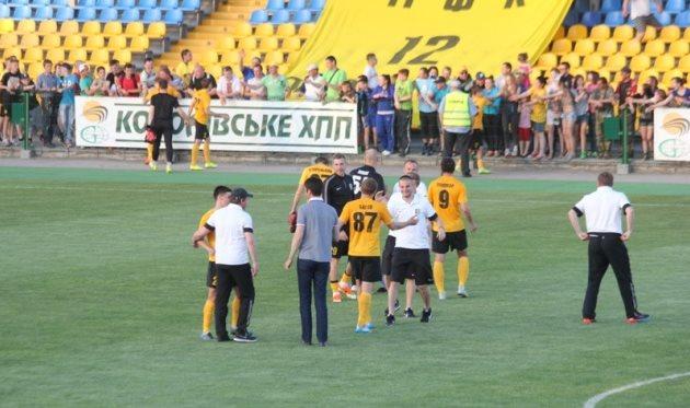 Александрию ждет Премьер-лига, фото Д.Витченко, fco.com.ua