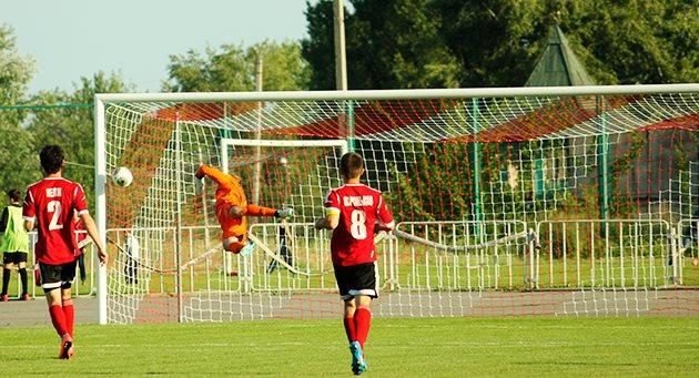 И все же Горняк-Спорт вырвал победу, фото gornyak-sport.net