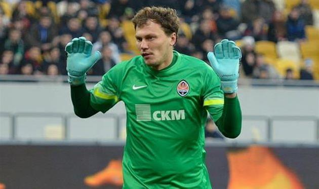 Андрей Пятов, фото Б. Заяца, Football.ua