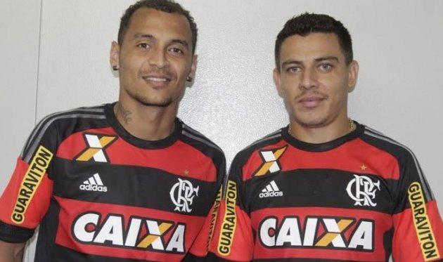 Алан Патрик и Аиртон, фото Flamengo.com.br