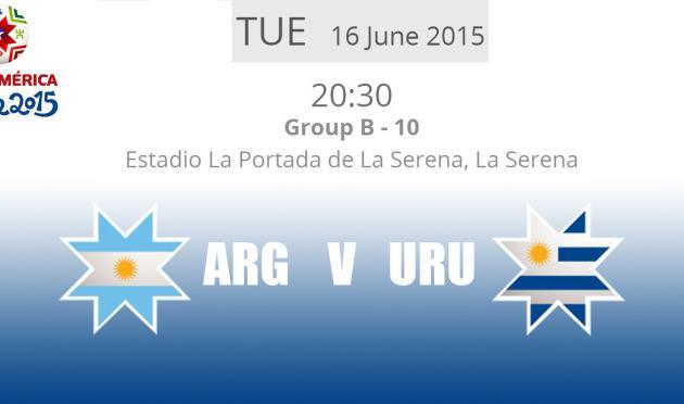 Копа Америка — 2015. Аргентина — Уругвай 1:0