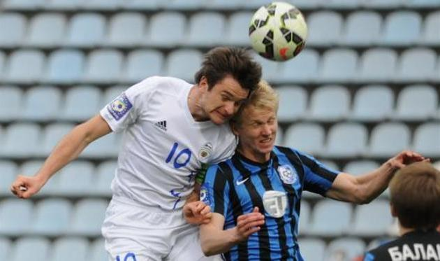 Фещук в игре против Черноморца, фото Football.ua