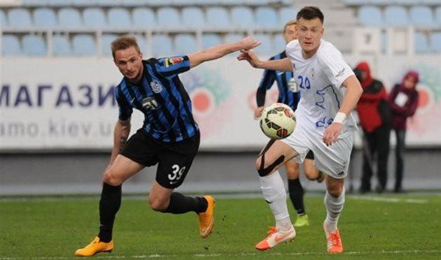 Денис Васин (слева), Football.ua