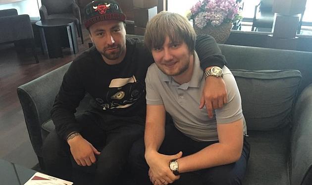 Алексей Антонов и Вадим Шаблий, facebook.com/vadim.shabliy