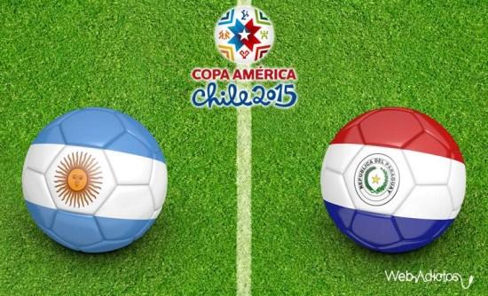 Копа Америка — 2015. Аргентина — Парагвай 6:1