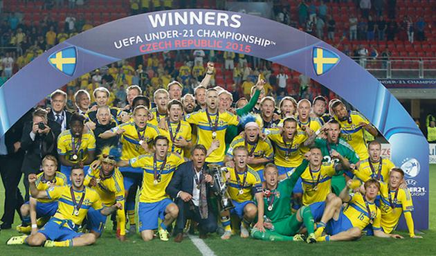 Швеция – триумфатор молодежного Евро, u21euro2015.cz