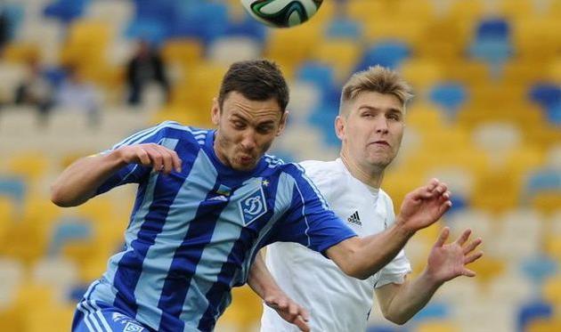 Гришин против Рыбалки, фото И. Хохлова, Football.ua