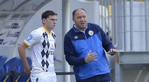 Насонов и Пятенко, фото БОГДАНа ЗАЯЦа, football.ua