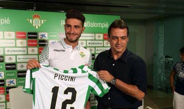 Кристиано Пиччини, ФК Бетис