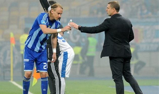Домагой Вида и Сергей ребров, фото ИЛЬи ХОХЛОВа, football.ua