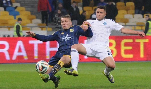 Евгений Чумак (справа), фото И.Хохлова, Football.ua