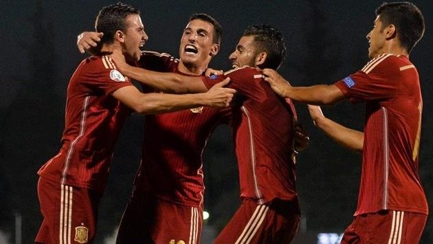Радость испанцев, Uefa.com