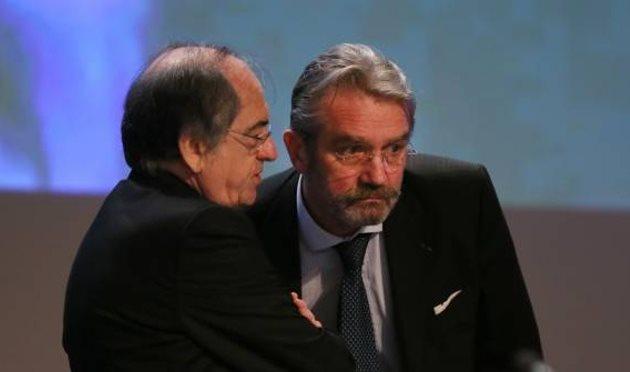 Конфликт между главой Федерации и Лиги 1, lequipe.fr