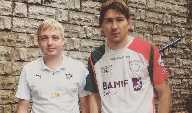Евгений Блажко и Дмитрий Джулай