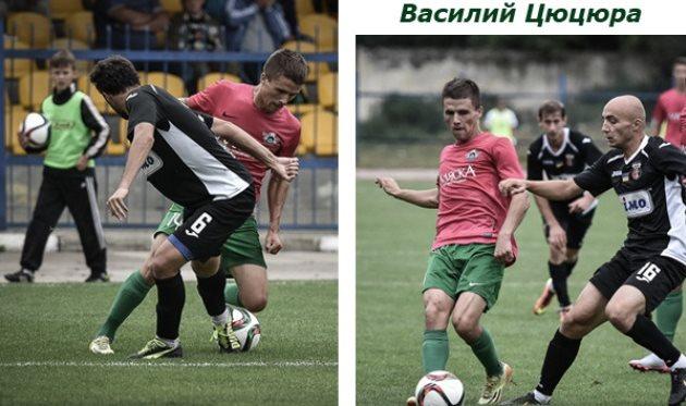 Василий Цюцюра (в красной футболке), fcstal.com.ua