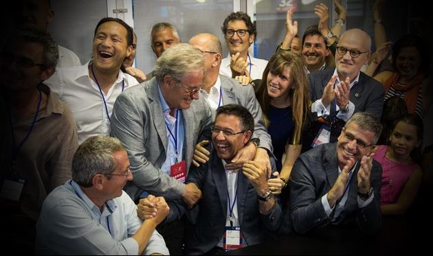 2015: Хосеп Мария Бартомеу выигрывает президентские выборы mundodeportivo.es