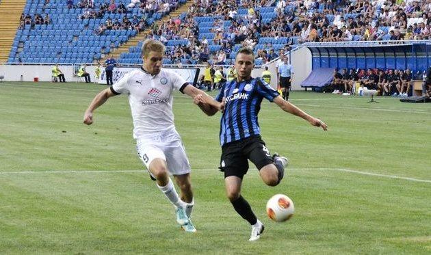Сытник в матче против Черноморца, фото Д. Тимофеева, Football.ua