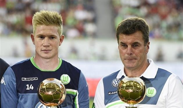 Кевин де Брайне (слева), Getty Images
