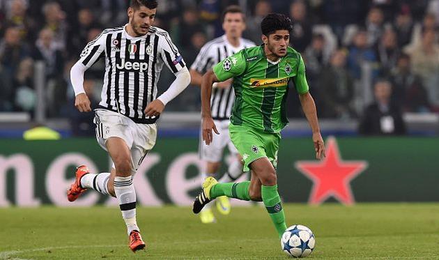 Махмуд Дахуд (справа) в игре против Ювентуса, Getty Images