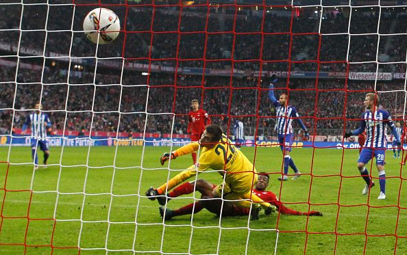 Коман забивает второй гол в матче, Getty Images
