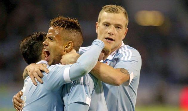 Сельта празднует первый гол, Marca
