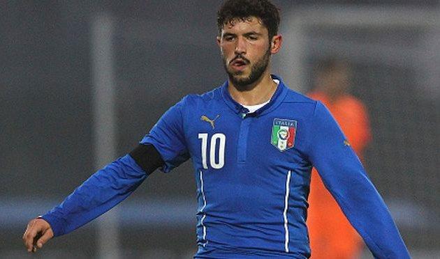 Стефано Сенси в игре за молодежную сборную Италии, Getty Images