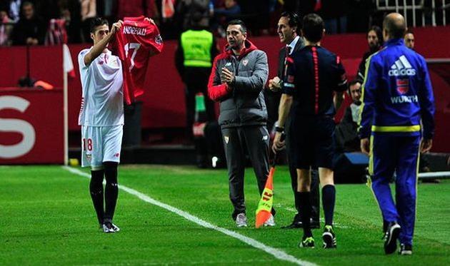 Эскудеро посвятил свой гол травмированному Андреолли, La Liga