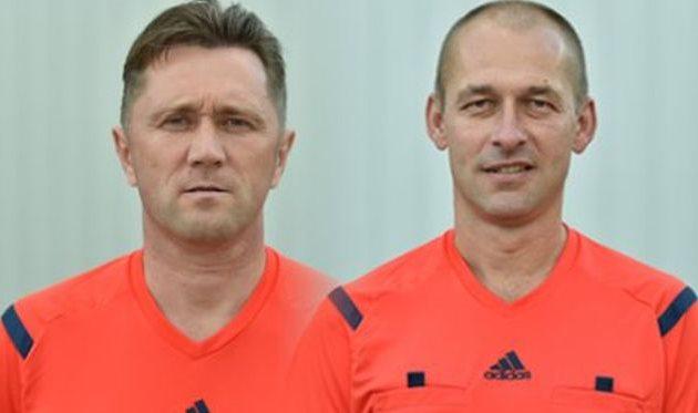 Юрий Мосейчук (слева) и Сергей Лисенчук (справа), referee.ffu.org.ua