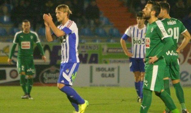 Хомченовский помог своей команде, La Liga