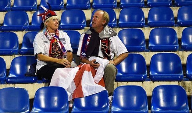 Поддержка сборной Англии, Getty Images