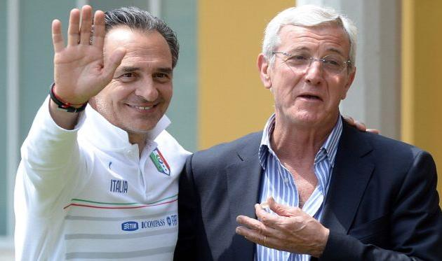 Марчелло Липпи (справа) и Чезаре Пранделли, Getty Images