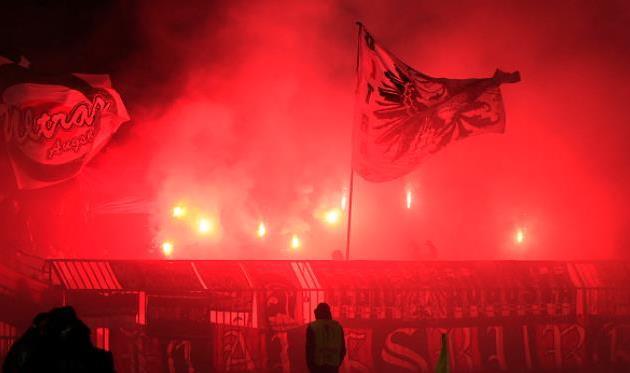 Фанаты Партизана недовольны, Getty Images