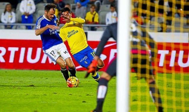 Араухо прорывается к воротам, Marca