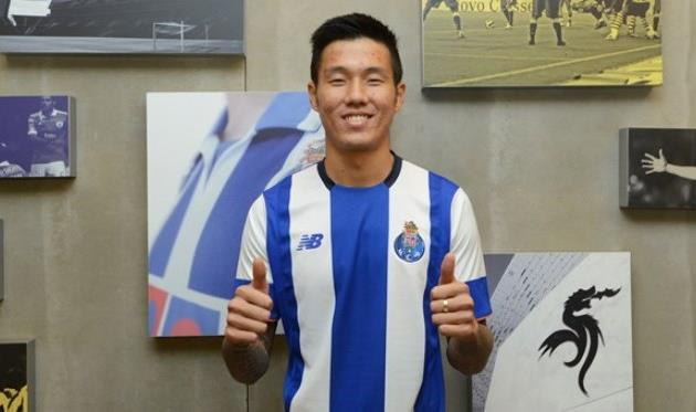 Хен-Чжун Сук, официальный сайт Порту