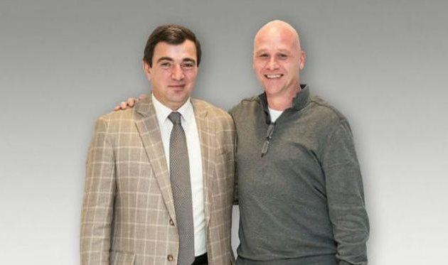 Исраелян и новый тренер, ТК Футбол