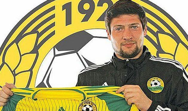Новоиспеченный игрок Кубани Евгений Селезнев, FCKUBAN.RU