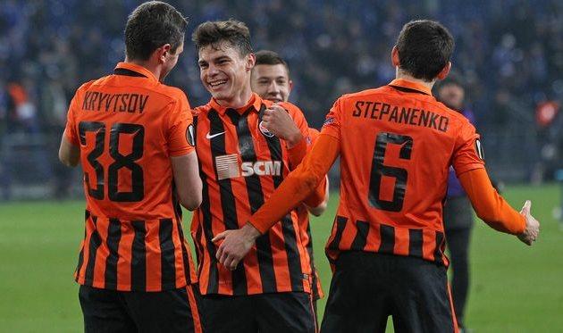Ликование игроков Шахтера, Football.ua