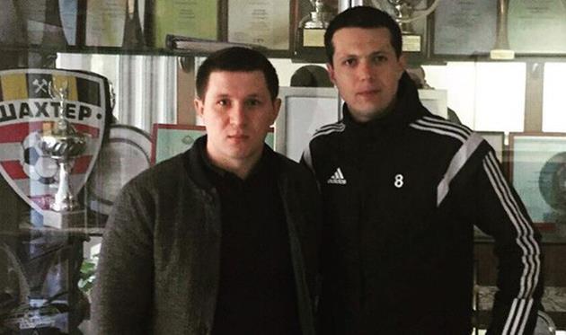 Сергей Рудыка (справа), фото из Инстаграма Вадима Шаблия
