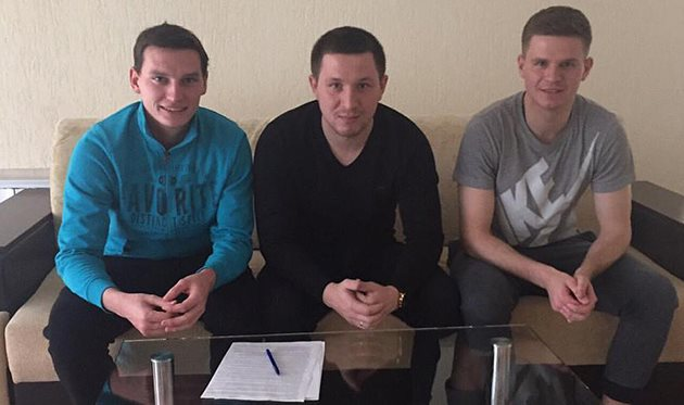 Александр Насонов, Александр Карпов и Дмитрий Юсов, фото из Фейсбука Александра Карпова