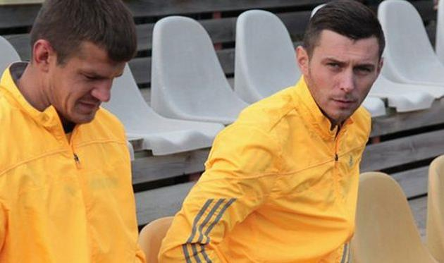 Артем Касьянов (справа) и Алексей Полянский, sport-express.ua