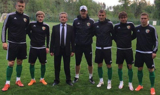 Обладатели новых контрактов с главным тренером и президентом клуба, vorskla.com.ua