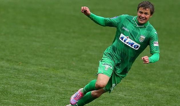 Денис Кожанов, фото Александра Осипова, Football.ua