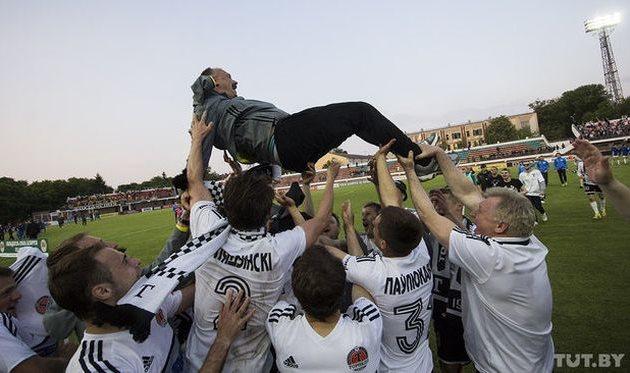 Чумак и компания помогли Торпедо-БеЛАЗ завоевать первый Кубок Беларуси