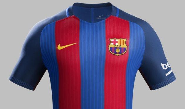 Домашняя форма Барселоны в сезоне 2016-2017 — football.ua d32d71bc495