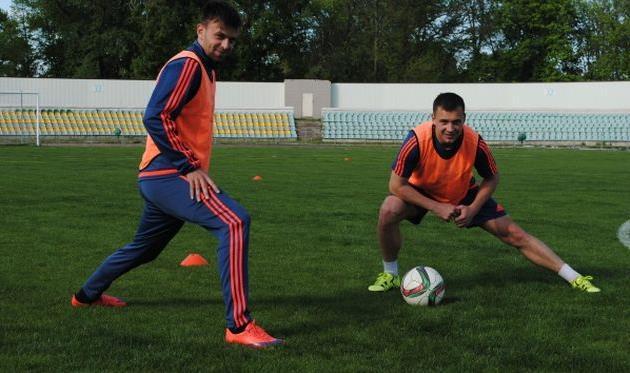 Дмитрий Швец (слева) и Виталий Собко, fc-avangard.com.ua