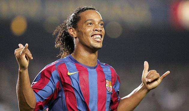 Роналдиньо, fcbarcelona.com