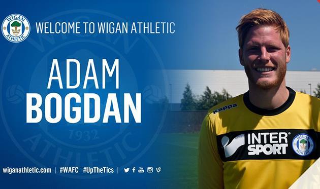Адам Богдан, ФК Уиган