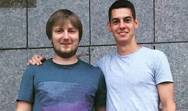 Вадим Шаблий и Вячеслав Чурко (справа), Instagram