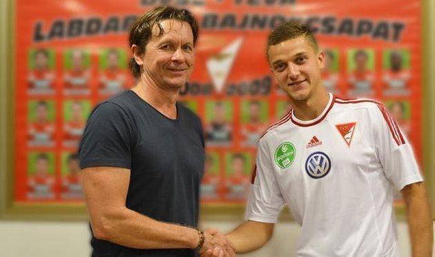 Иван Бобко (справа), dvsc.hu